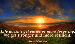 strength and resilience