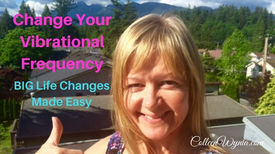 Change Your Vibrational Frequency, BIG Life Changes Made Easier | Colleen Wynia