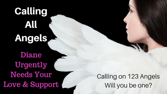 Calling All Angels Fundraiser ~ Help Us Gift Diane her Life back
